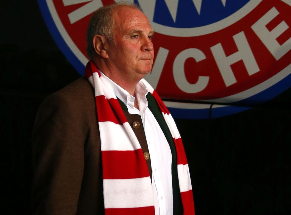 Hero or villain? Under Uli Hoeness, Bayern Munich make more money from commerce than any other club