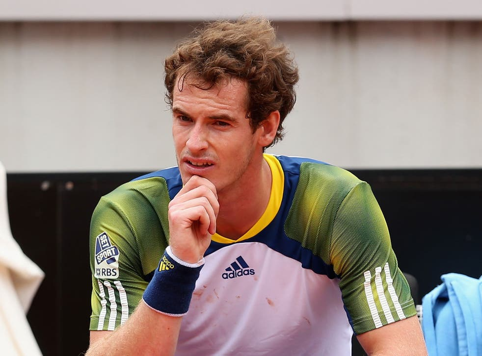 Andy Murray is expecting to make a decision on whether to play in the French Open later this week