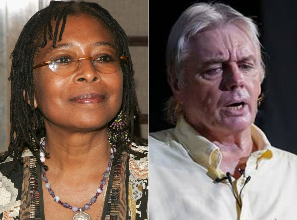 Pulitzer Prize-winning author Alice Walker has voiced her support for the work of controversial British conspiracy theorist David Icke on BBC Radio 4's Desert Island Discs.