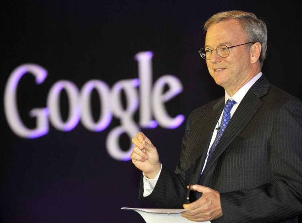 Google chairman Eric-Schmidt has rejected claims that the company is not paying their fair share of taxes