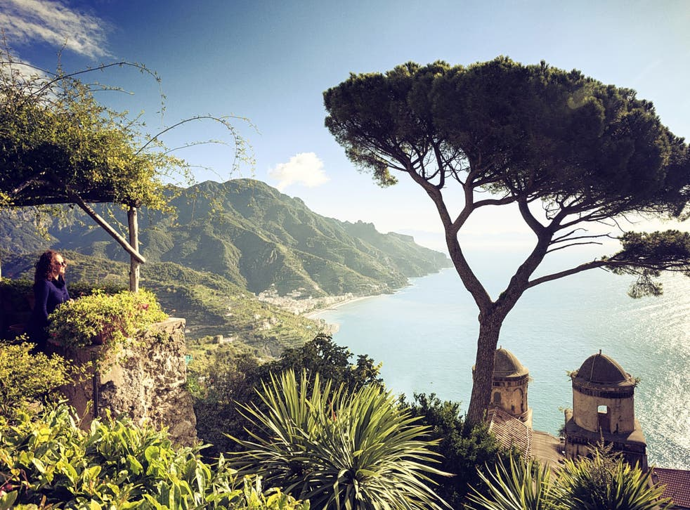 Cliff notes: the view from Villa Rufolo