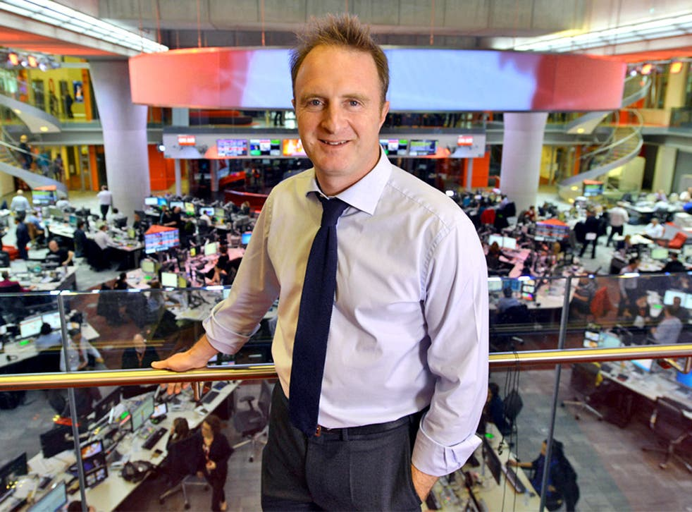 James Harding, incoming Director of News at the BBC