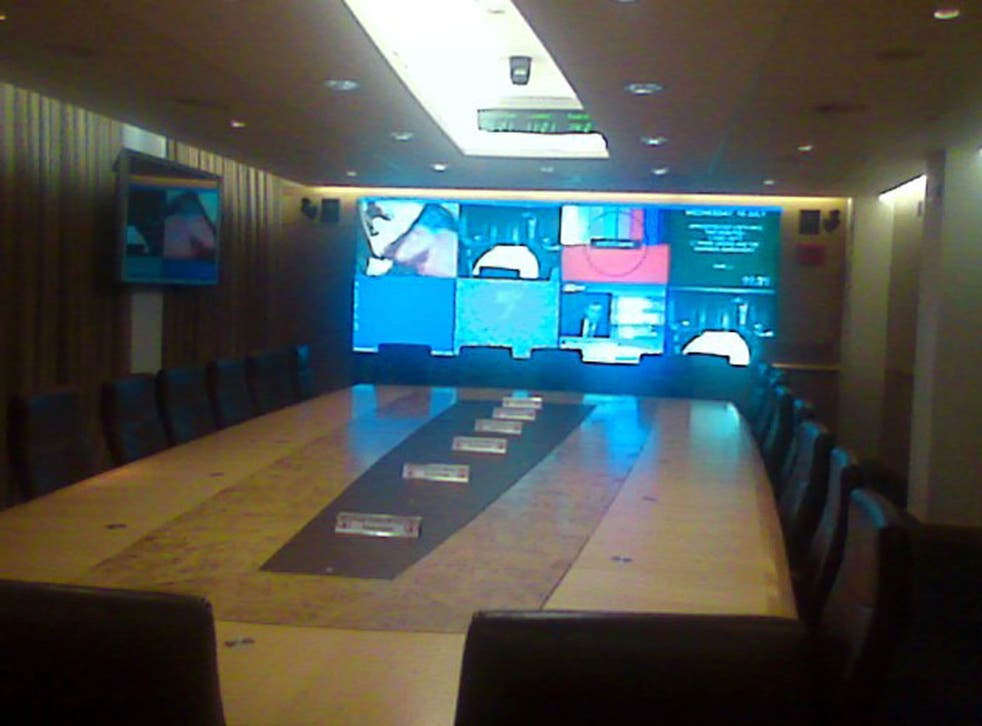 Cabinet Office Briefing Room