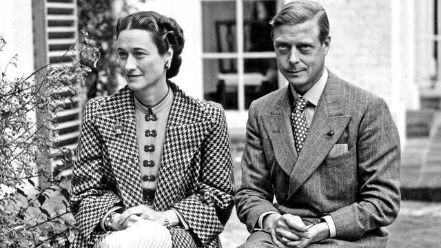 Wallis Simpson and Edward VIII were married in June 1937