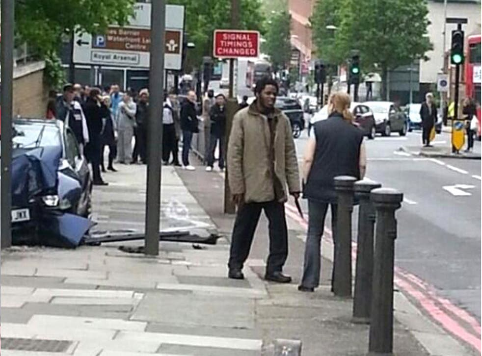 One of the alleged attackers was captured in a picture posted on twitter