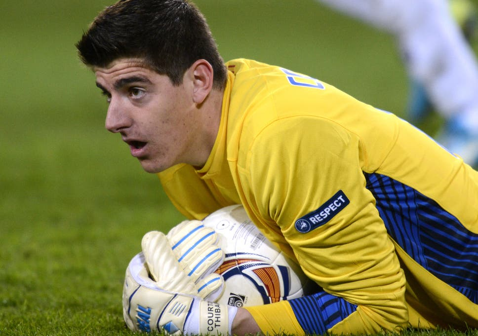8db75af4d50 On-loan goalkeeper Thibaut Courtois still believes in Chelsea youth ...