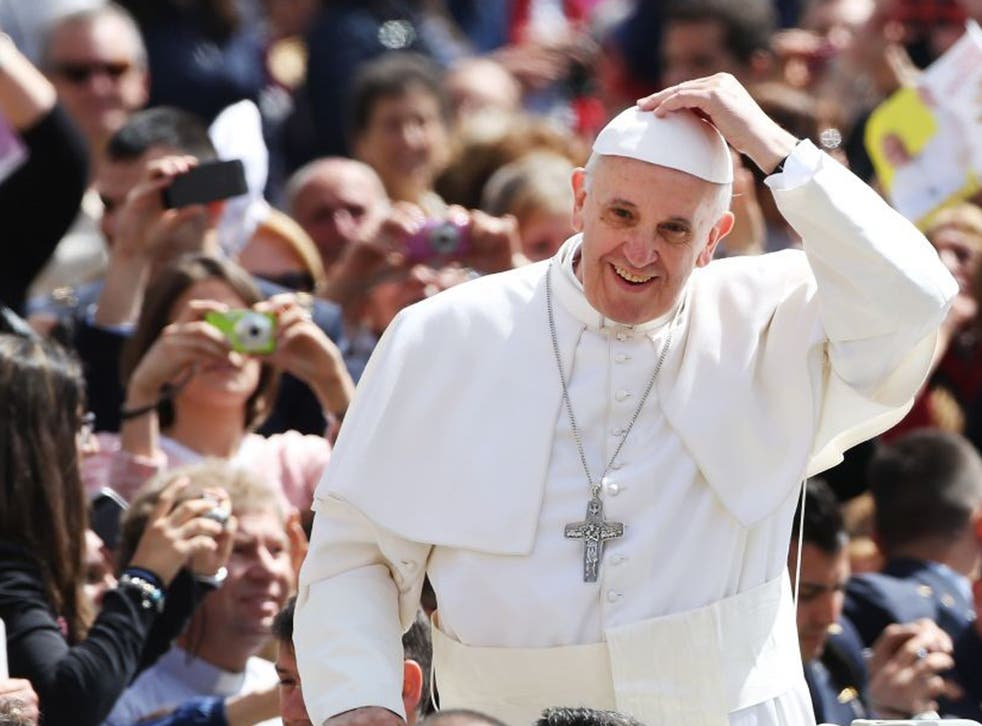 Pope Francis appeared to say non-believers could still go to heaven