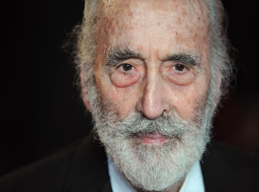 Sir Christopher Lee is to release a heavy metal album on his 91st birthday