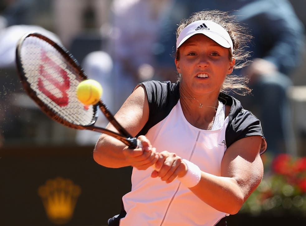 Laura Robson: The Briton will play Caroline Wozniacki in the first round in Paris