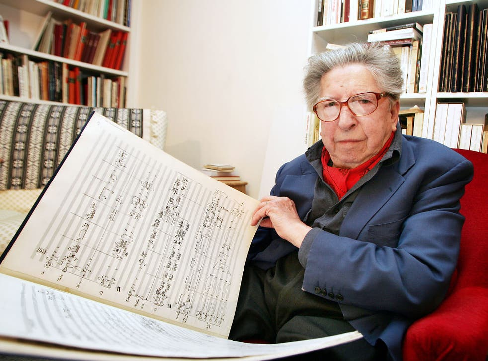 Dutilleux's work was characterised by attention to detail; even his manuscripts are works of art