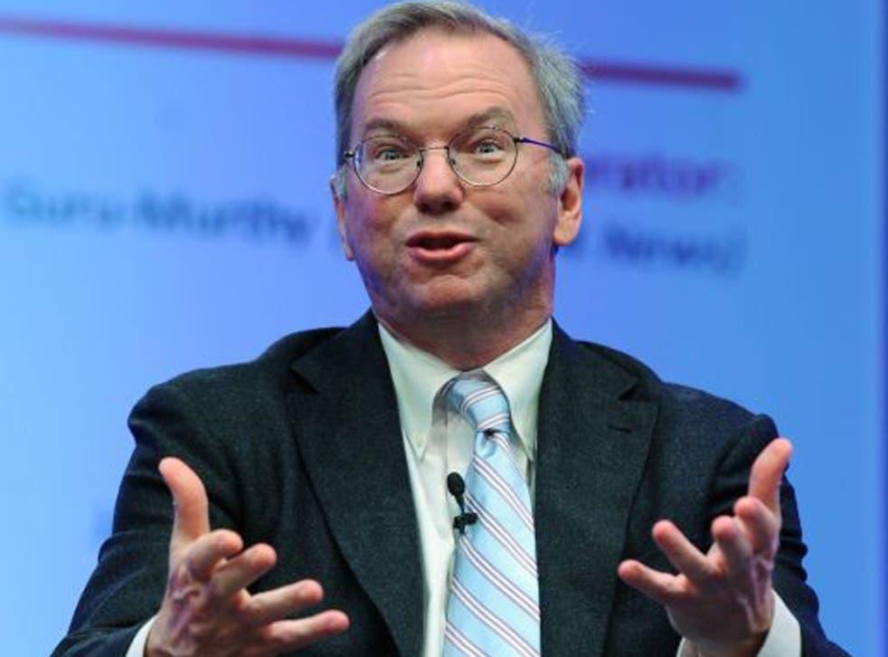 Eric Schmidt has defended Google's tax affairs