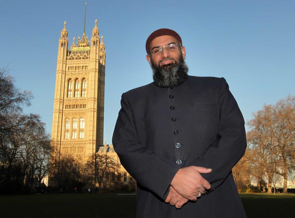 Islamist cleric Anjem Choudary