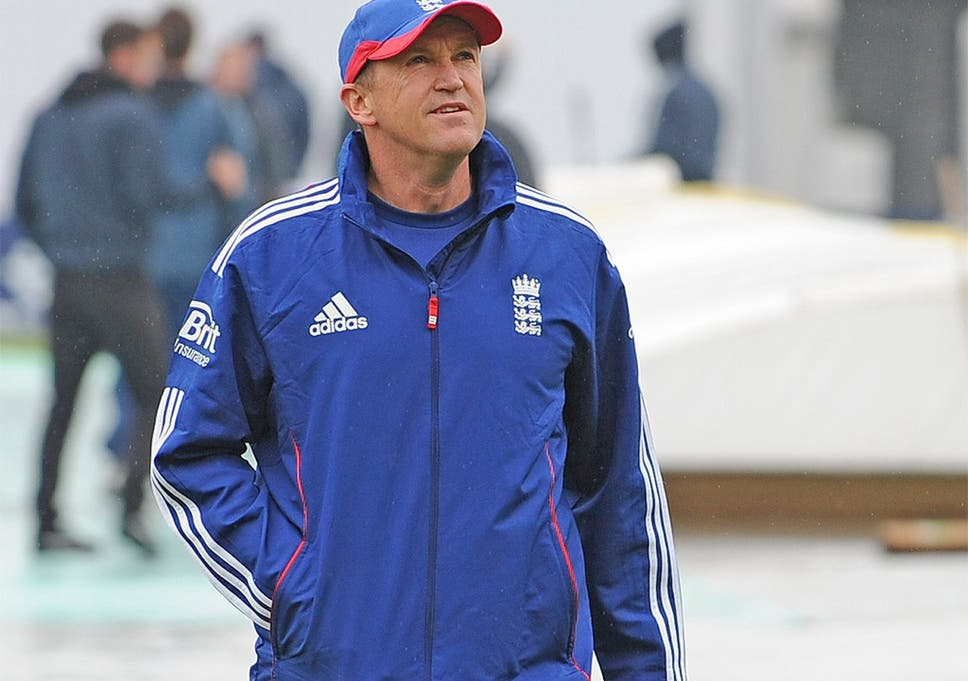 England Page 3 >> Page 3 Profile Andy Flower England Cricket Coach The