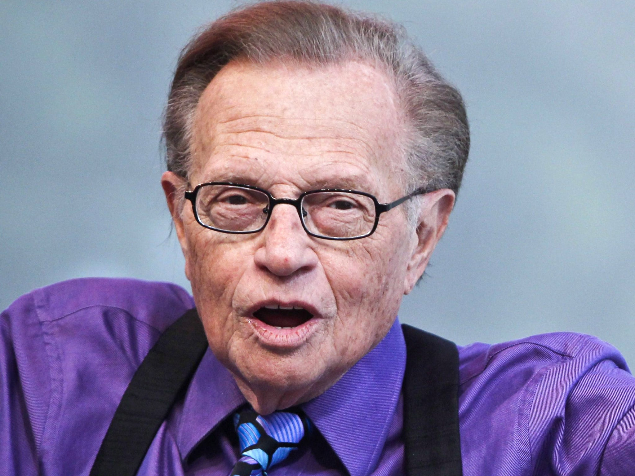 Larry King was placed in coma after stroke and 'doesn't remember most of March'