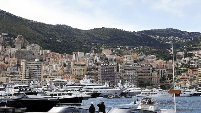 Incredible hulls: yachts in the harbour