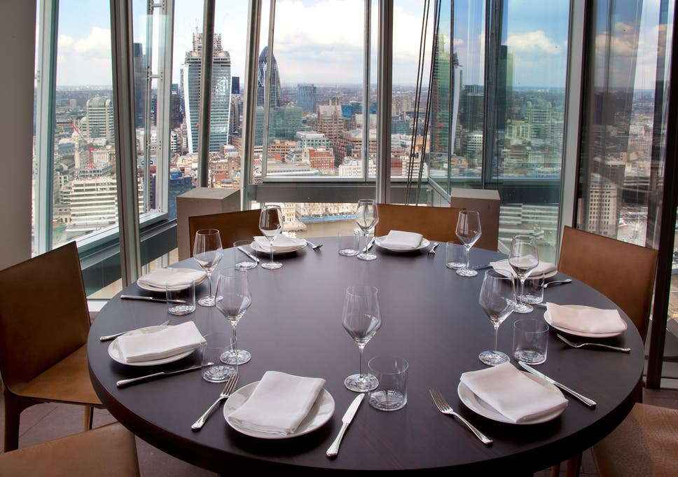 Oblix Level 32 The Shard London The Independent