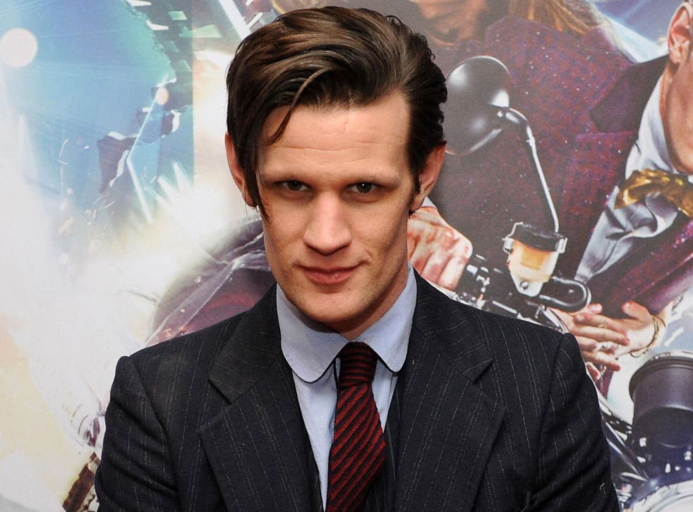 Matt Smith, the departing Dr. Who
