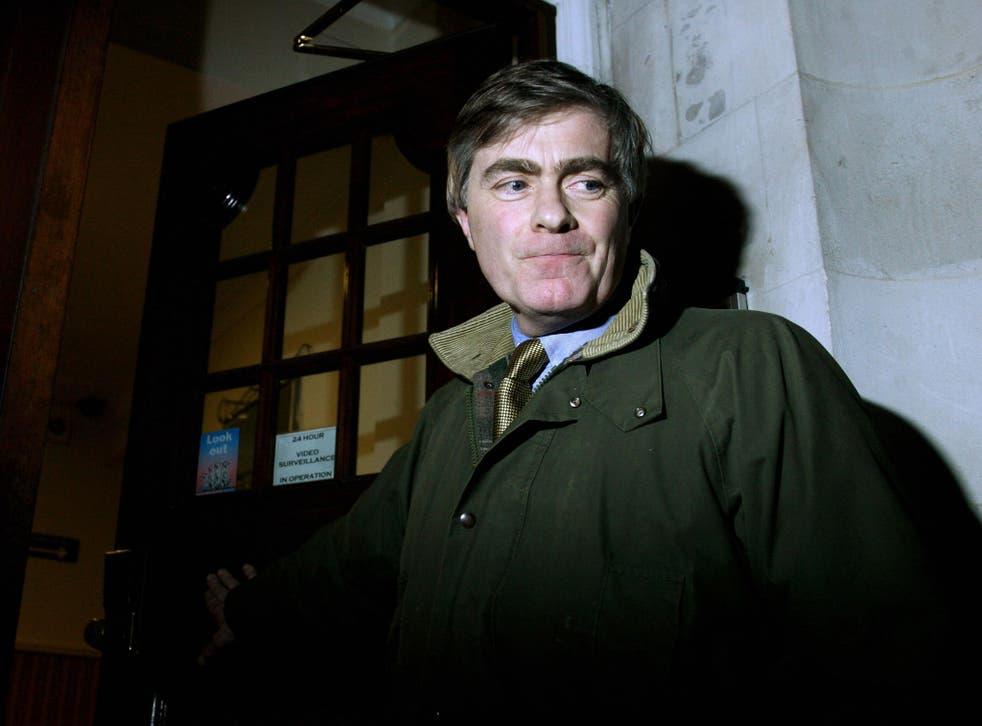 MP Patrick Mercer pictured in 2007