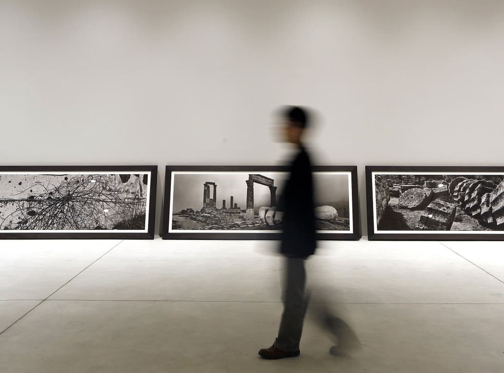 Josef Koudelka's work in the Vatican pavilion
