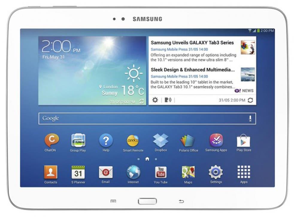 SGalaxy Tablet 3