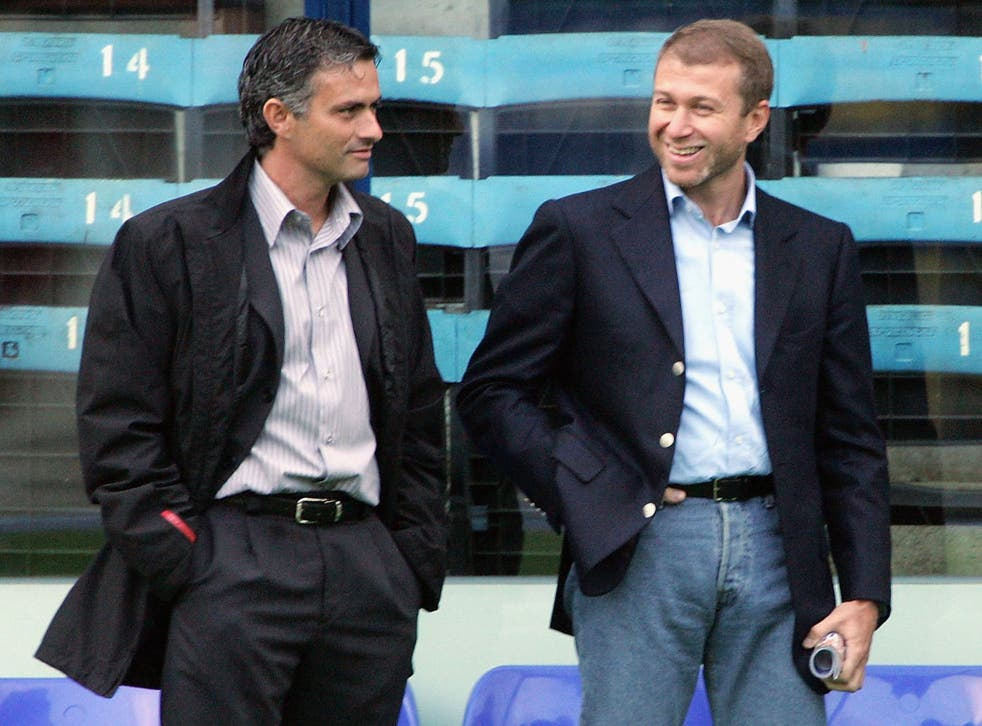 """""""If Roman Abramovich helped me out in training we would be bottom of the league and if I had to work in his world of big business, we would be bankrupt!"""" - on his relationship with the Chelsea owner."""