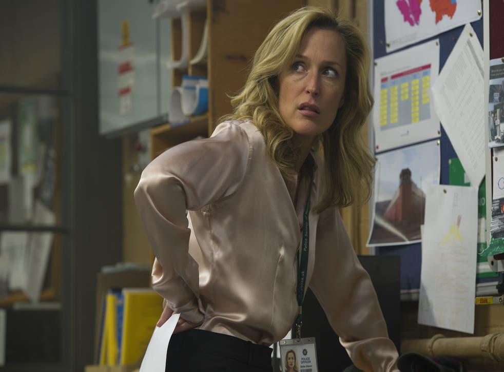 DSI Stella Gibson (Gillian Anderson) in The Fall
