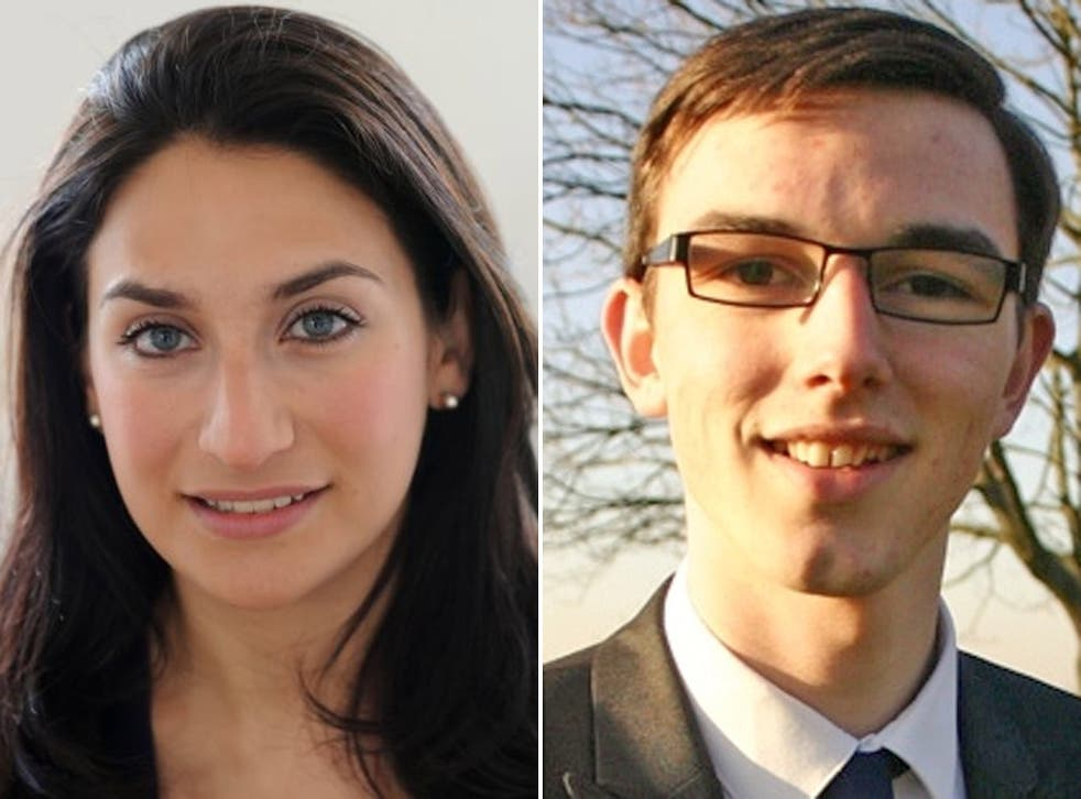 Jake Morrison, right, has accused Luciana Berger of making his life 'unbearable'