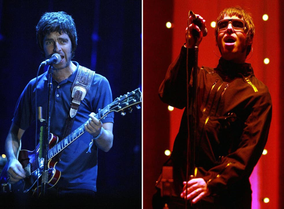 Brothers in arms: Noel and Liam Gallagher