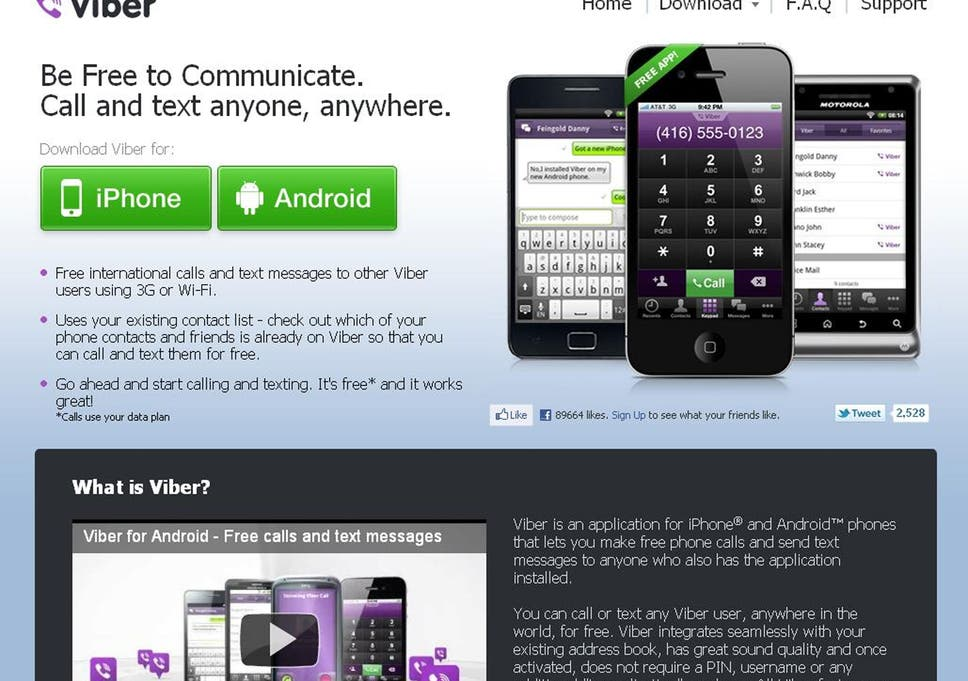 Saudi Arabi bans free internet messaging service Viber | The Independent
