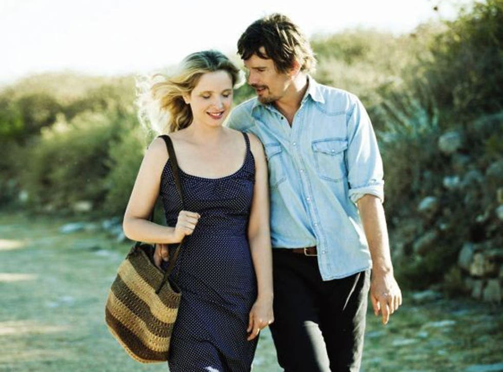 Two love: Julie Delpy as Celine and Ethan Hawk as Jesse in 'Before Midnight'