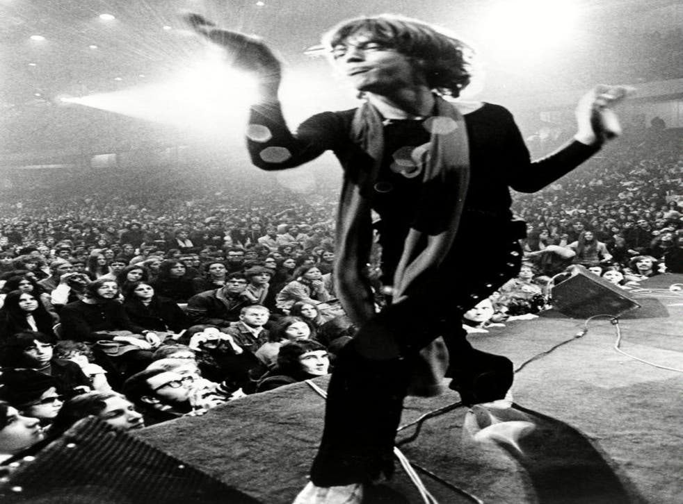 Stage time: Mick Jagger