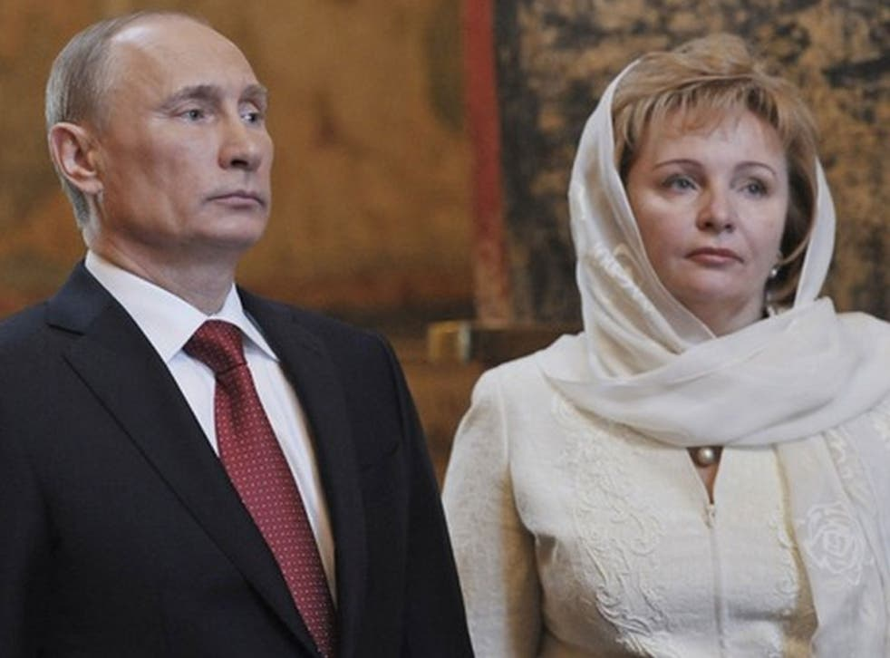 Russia's President Vladimir Putin and Ludmila have divorced