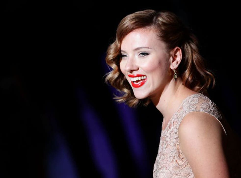 Scarlett Johansson has said porn can be 'productive to women'