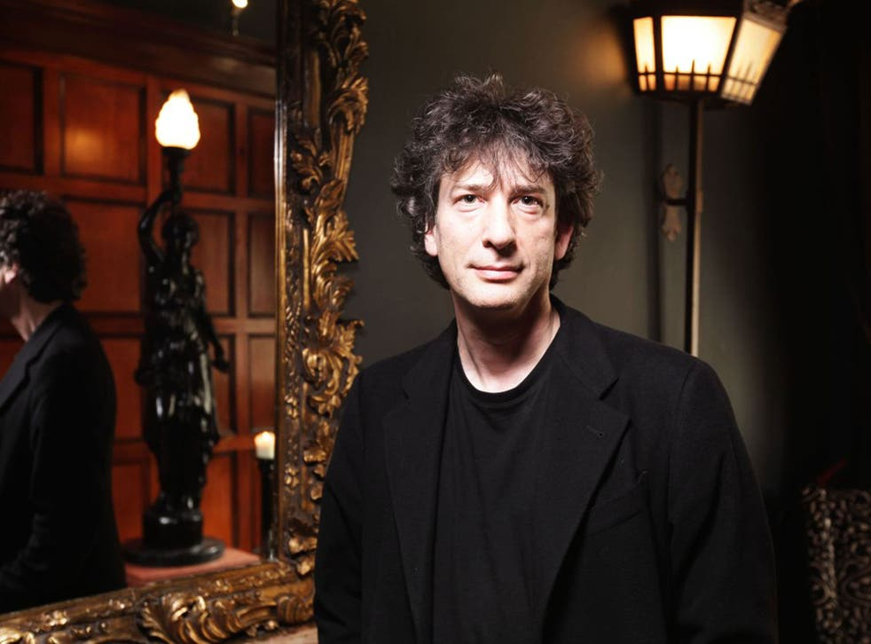 'I can't see the point of being rich and miserable,' says Neil Gaiman