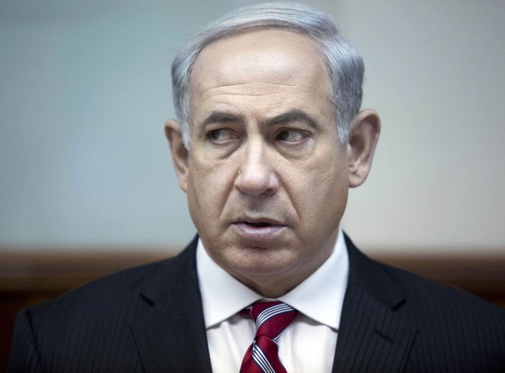 Benjamin Netanyahu has warned that Israel could act to prevent the Syrian civil war from spilling into a buffer zone between the two countries