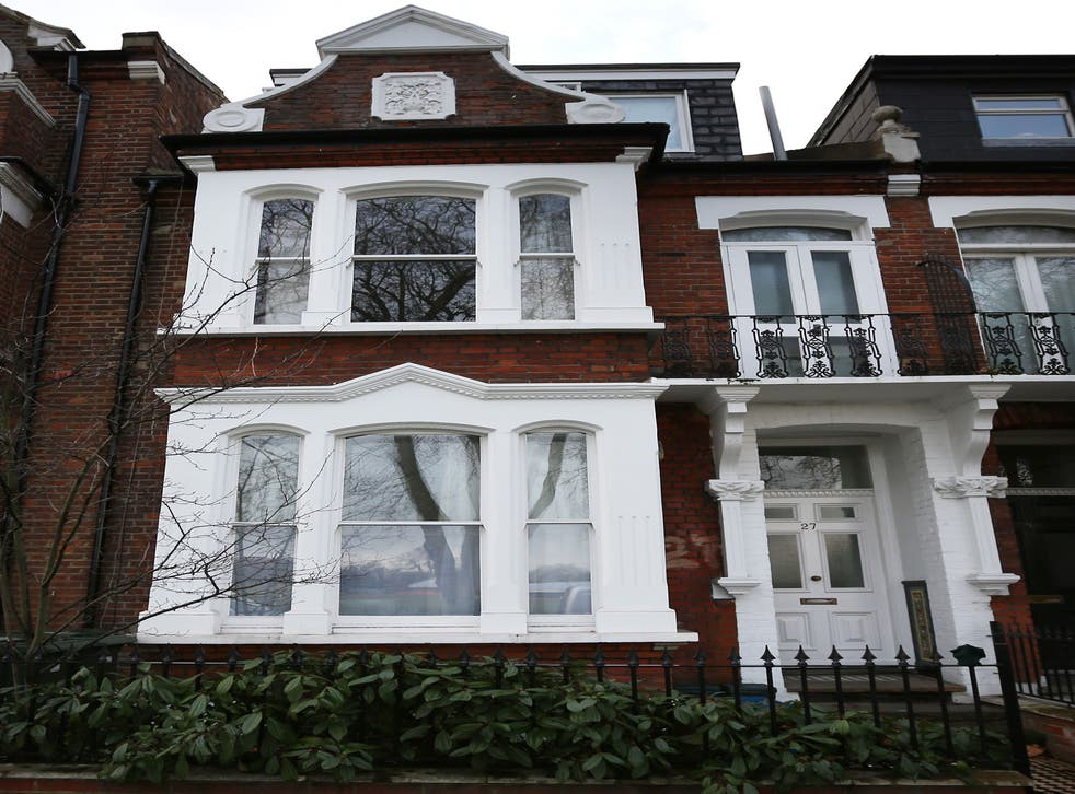 The site of the former Elm Guest House in Barnes. Two men have been arrested in connection with child abuse allegations relating to a guest house in south London during the 1980s