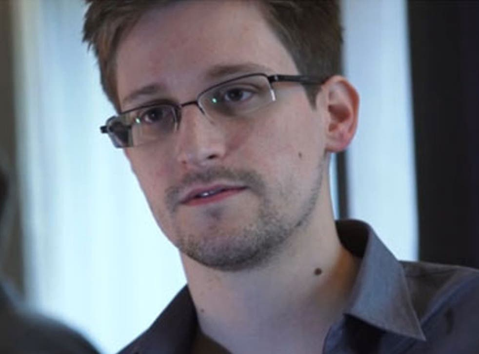 Edward Snowden, whose whereabouts are unknown