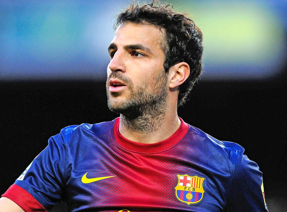 Fabregas: 'What I truly want is to triumph at Barcelona'