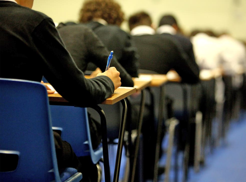 Just 32 per cent of poor white British children obtain five A* to C grades