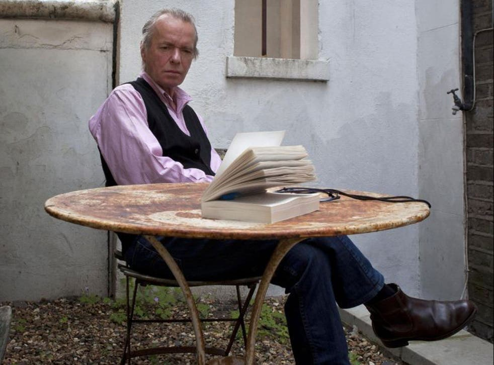 Martin Amis in London. The novelist has said an American-style pursuit of wealth has finally defeated the British obsession with social class
