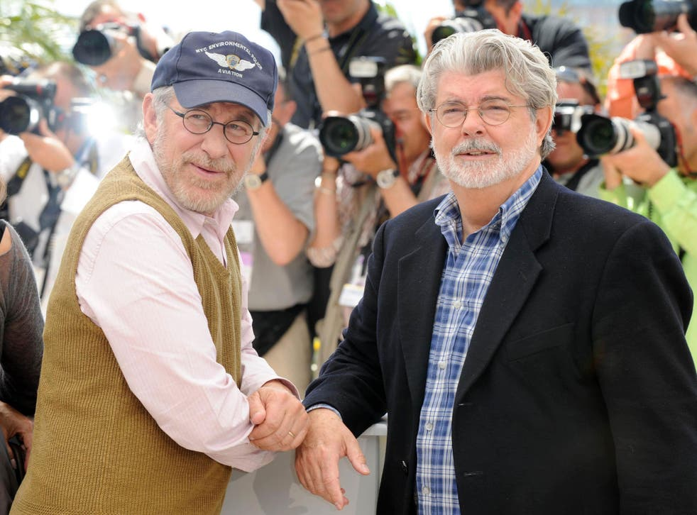 Steven Spielberg and George Lucas said studios were only prepared to invest in big titles