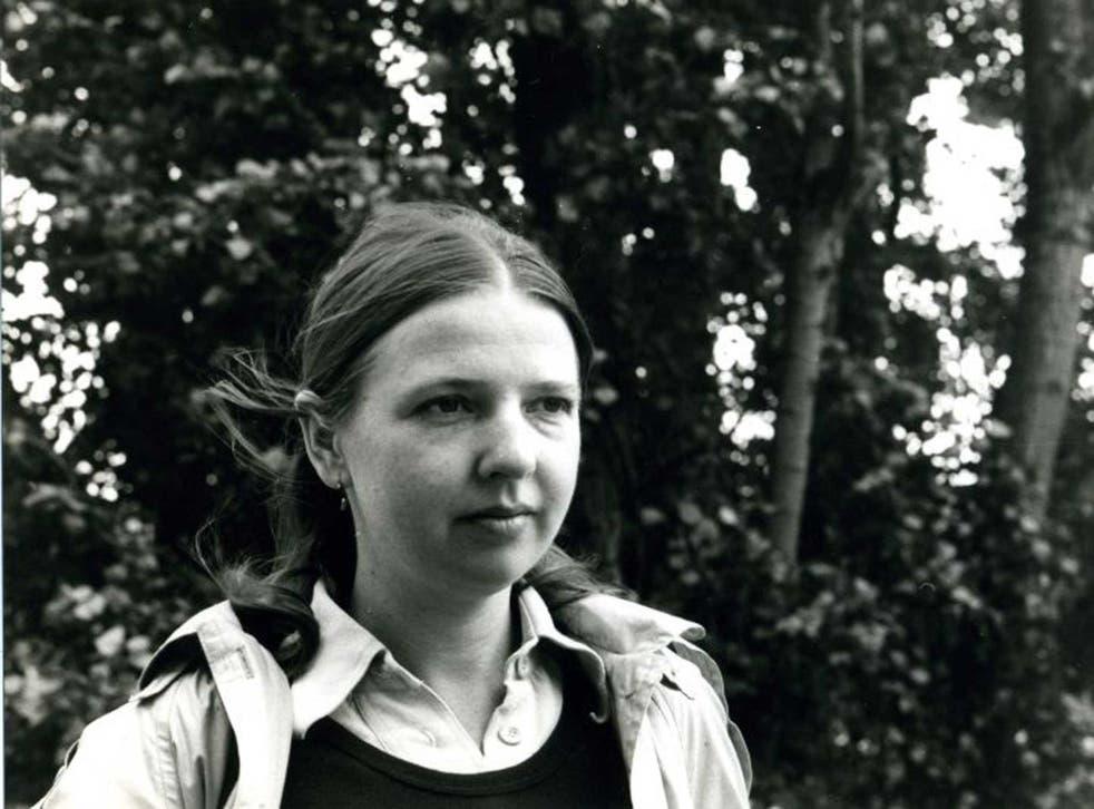 Dorothea Wight in Paris in 1978
