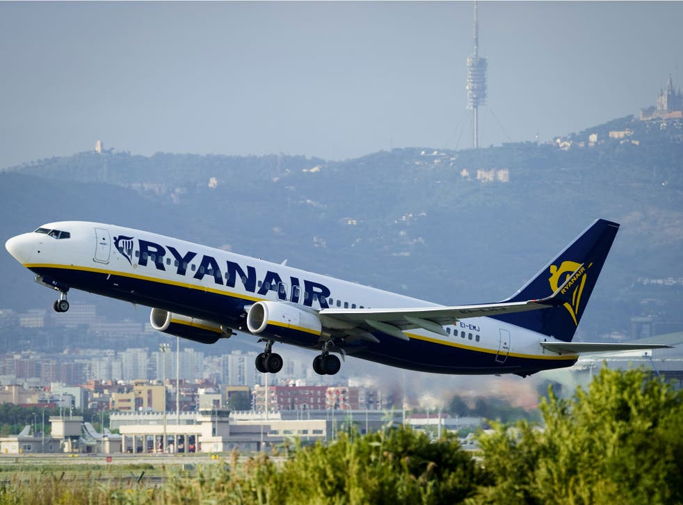 Low-cost airline Ryanair is pinning its hopes on an end to the summer heatwave