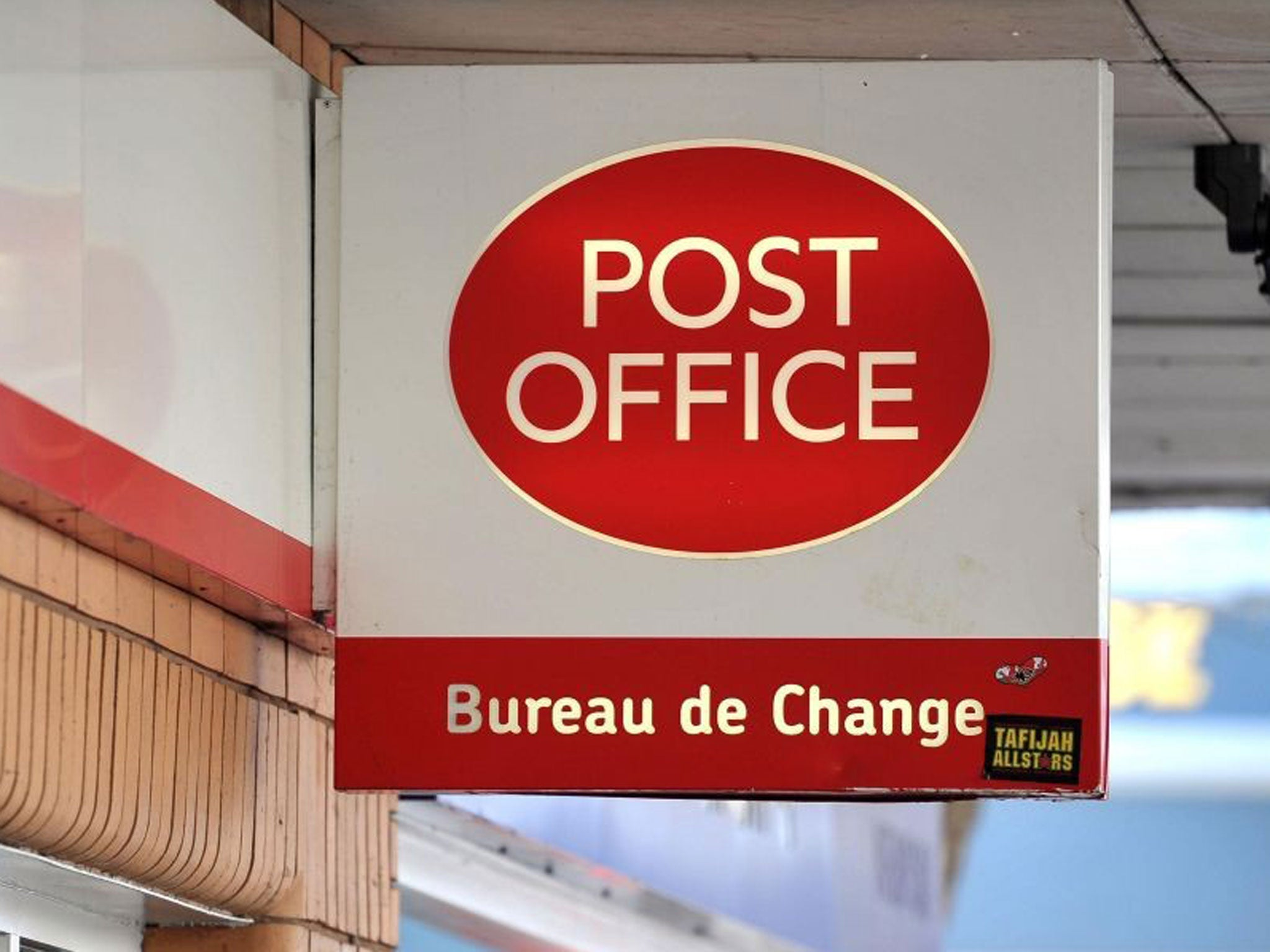 Post office to close 37 branches and cut 300 staff jobs the independent - Post office account for benefits ...