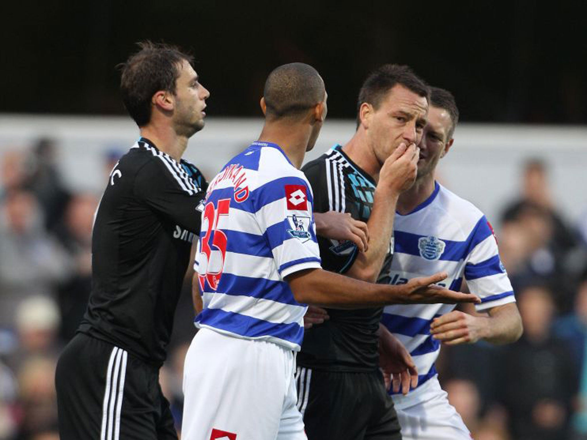 Neil warnocks the gaffer exclusive extract anton ferdinand has neil warnocks the gaffer exclusive extract anton ferdinand has not been the same since the john terry storm the independent fandeluxe Image collections