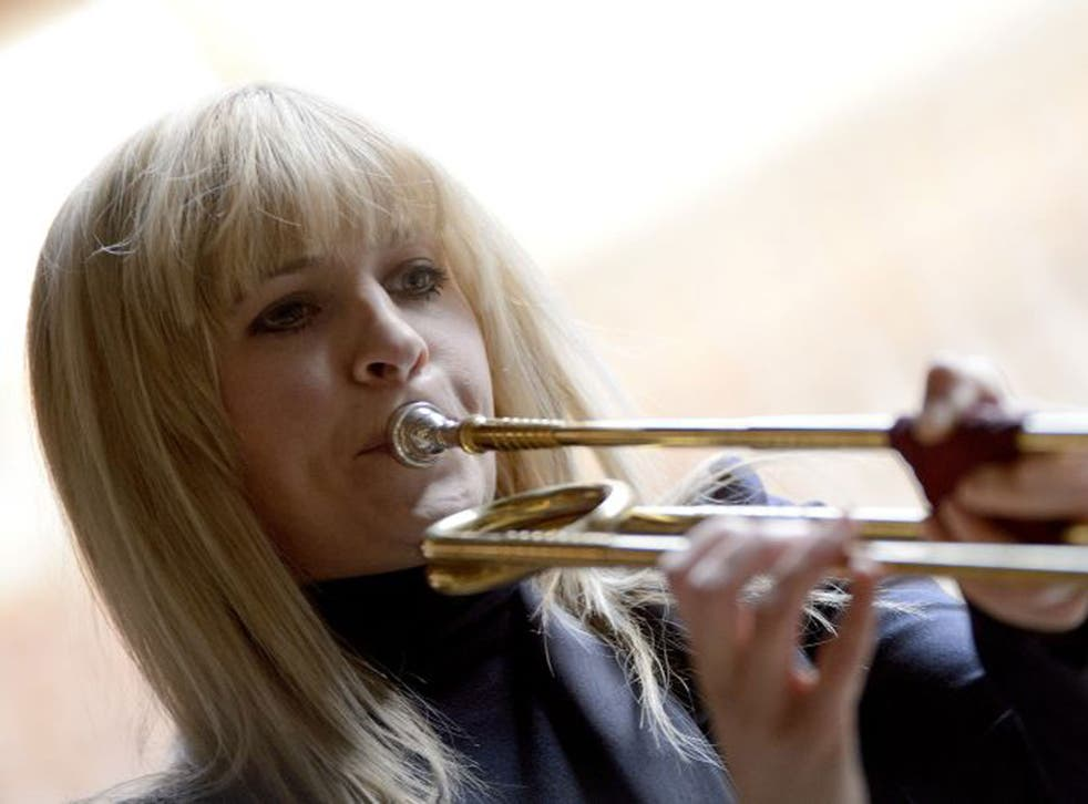Alison Balsom: Performers like to look good and make the most of their looks, their dress, their stage persona