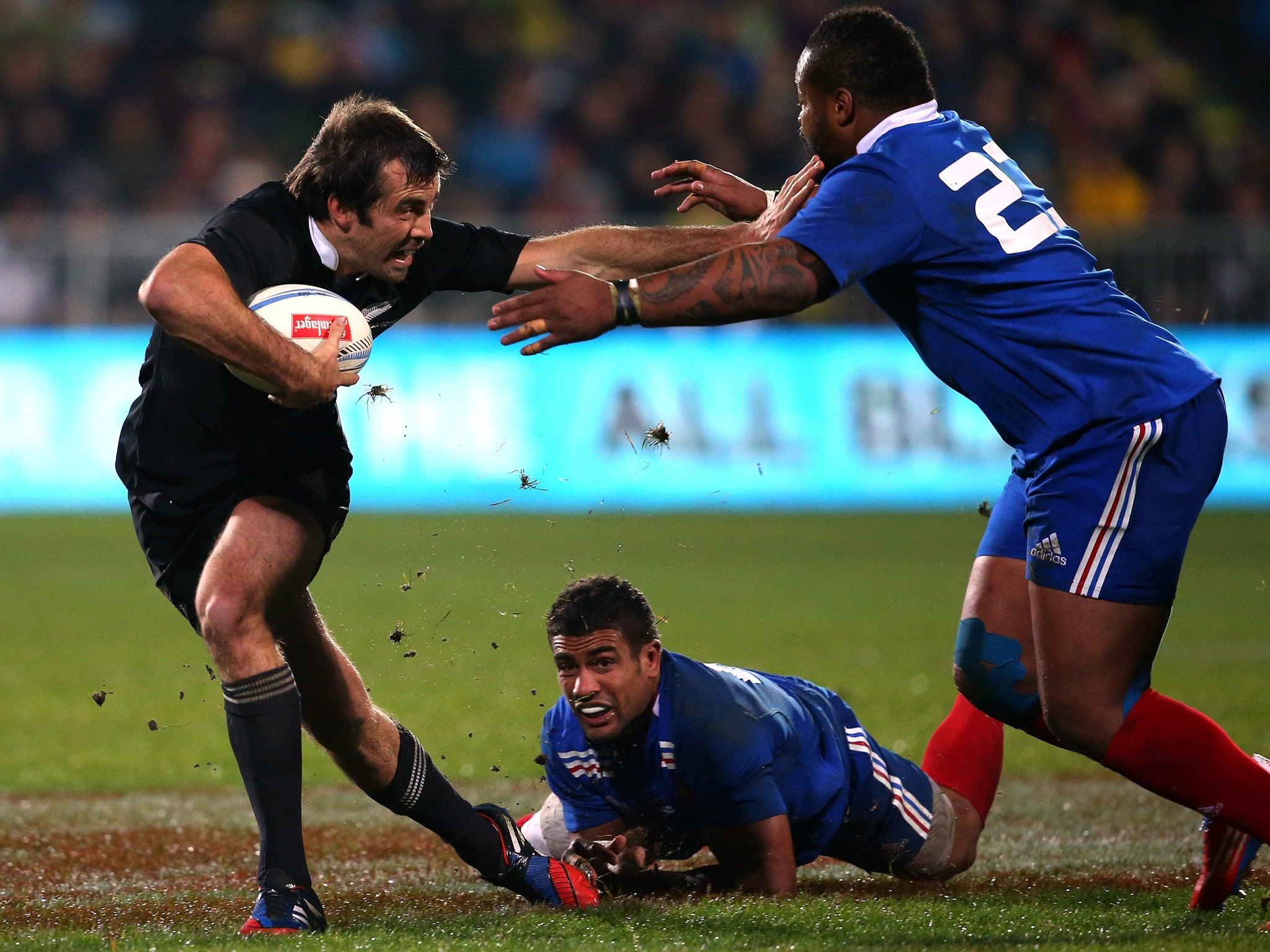 Full-time: New Zealand 62-13 France