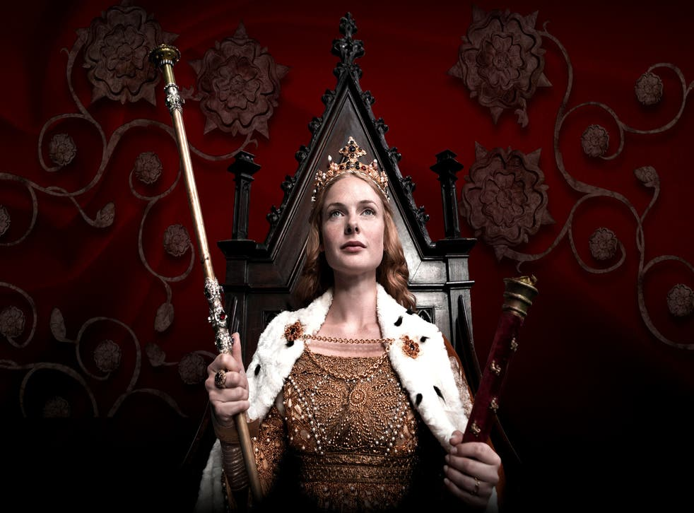 Elizabeth Woodville in The White Queen