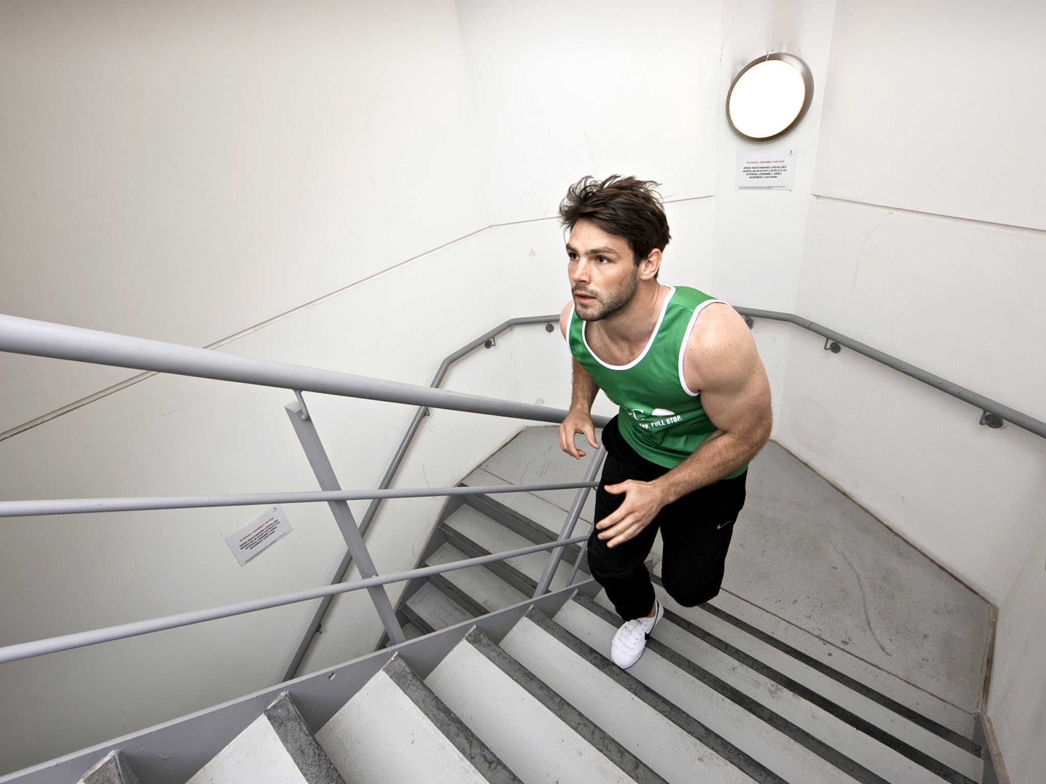Stair Climbing A Step Change In Keeping Fit