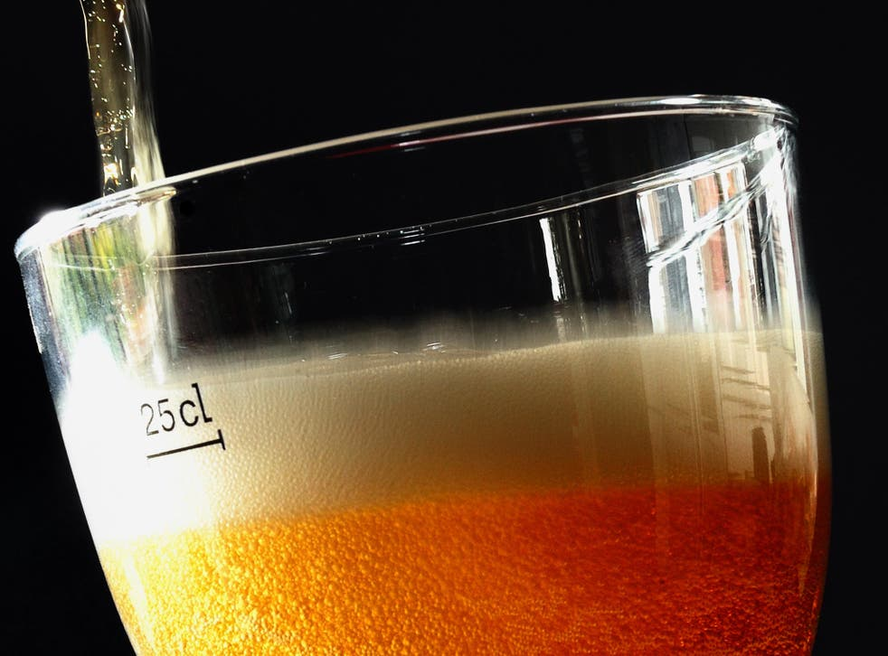 Drinking the occasional pint of beer could be part of a healthy diet